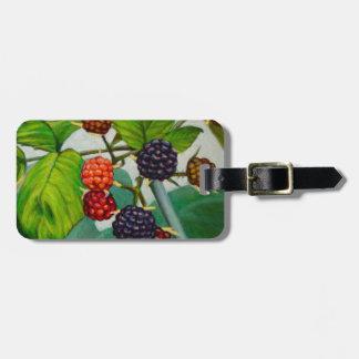 Raspberries Luggage Tag