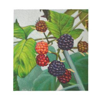 Raspberries Notepad