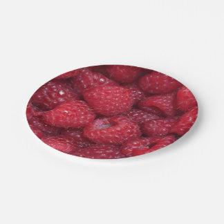 Raspberries Paper Plates