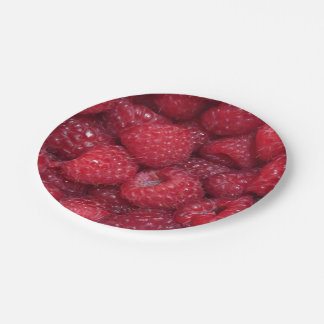 Raspberries Paper Plates 7 Inch Paper Plate