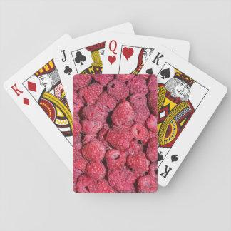 Raspberries Poker Deck