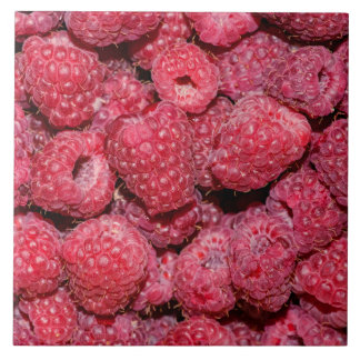 Raspberries Tile
