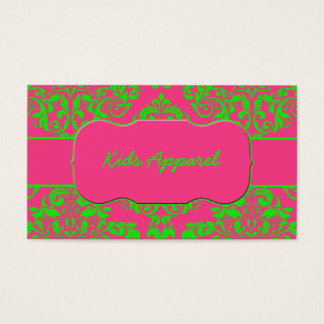 Raspberry and Lime Business Card