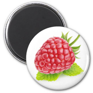 Raspberry and mint magnet