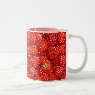 RASPBERRY CAFE Two-Tone COFFEE MUG
