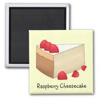 Raspberry Cheesecake Magnet