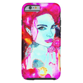 Raspberry dream tough iPhone 6 case