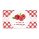 Raspberry Jam label