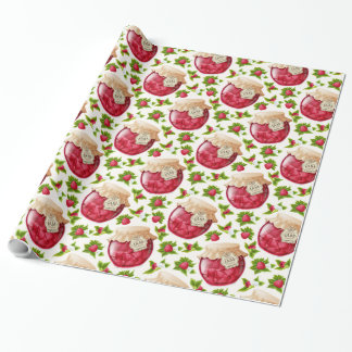 Raspberry Jam Wrapping Paper