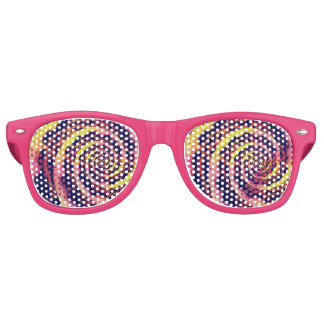 Raspberry Lemonade Vortex Party Glasses