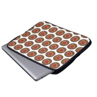 Raspberry Linzer Torte Christmas Cookie Baking Laptop Sleeve