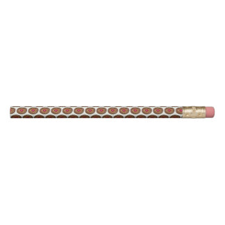 Raspberry Linzer Torte Christmas Cookie Holiday Pencil