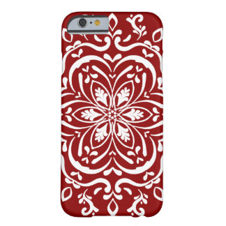 Raspberry Mandala Barely There iPhone 6 Case