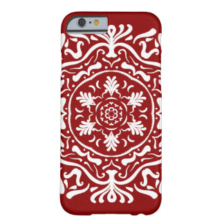 Raspberry Mandala Barely There iPhone 6 Case