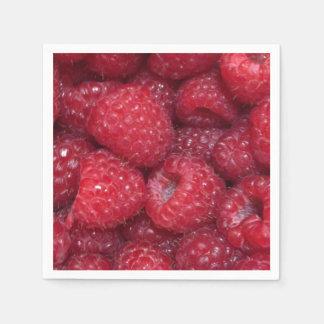 Raspberry Napkins Paper Napkin
