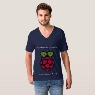 Raspberry Pi V-Neck T-Shirt