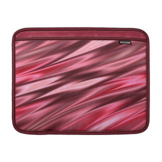 Raspberry pink pattern MacBook air sleeve