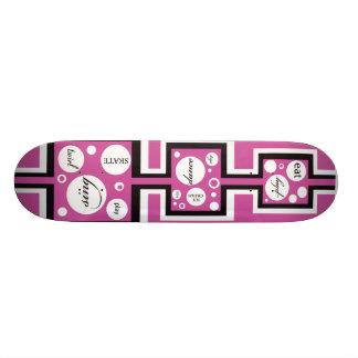 Raspberry Skateboard for girls