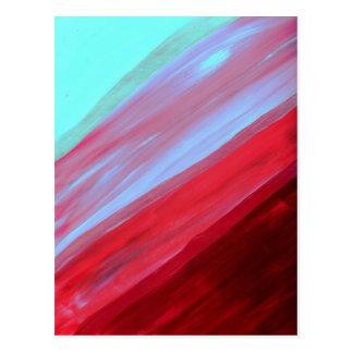 Raspberry Swirl Postcard