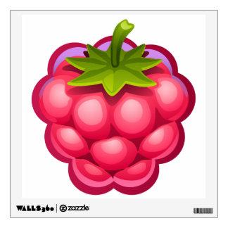 Raspberry wall art wall decal