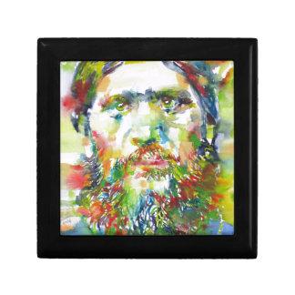 RASPUTIN - watercolor portrait.1 Gift Box
