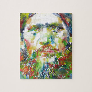 RASPUTIN - watercolor portrait.1 Jigsaw Puzzle