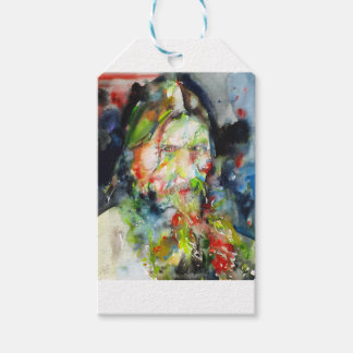 RASPUTIN - watercolor portrait.2 Gift Tags