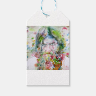 RASPUTIN - watercolor portrait.3 Gift Tags