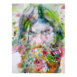 RASPUTIN - watercolor portrait.3 Postcard