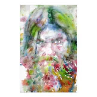 RASPUTIN - watercolor portrait.3 Stationery