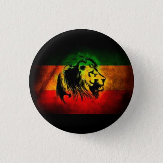 Rasta 1 Inch Round Button