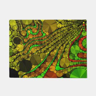 Rasta Abstract Bling Pattern Doormat