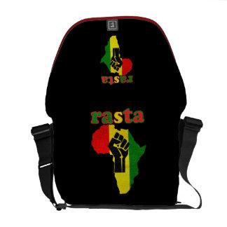Rasta African Power Rickshaw Messenger Bag