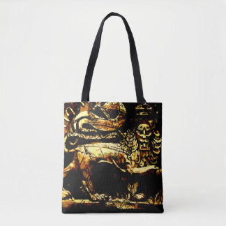 Rasta Ancient Ethiopian All over print Tote Bag
