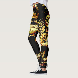 Rasta Ancient Ethiopian Lion of Judah Leggings