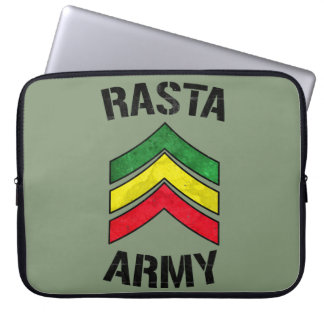 Rasta army laptop sleeve