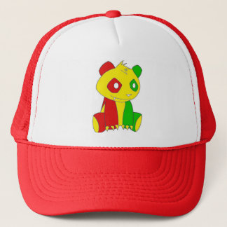 Rasta Big Panda Hat