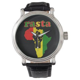 Rasta Black Power over Africa Watch