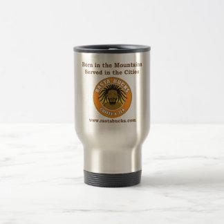 Rasta Bucks metal coffee mug