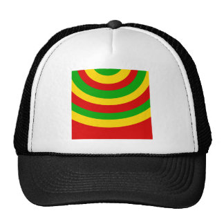 Rasta Curves Trucker Hat