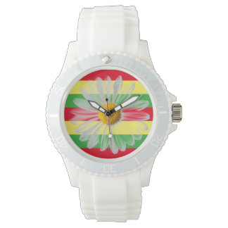 Rasta Daisy Watch