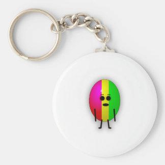 Rasta Egg Keychain