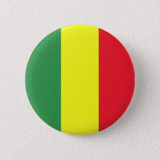 Rasta flag 2 inch round button