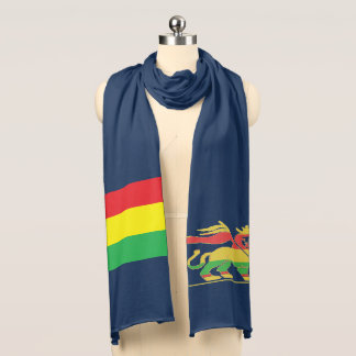 Rasta flag and Lion of Judah Scarf