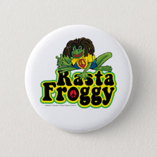 Rasta Froggy Button