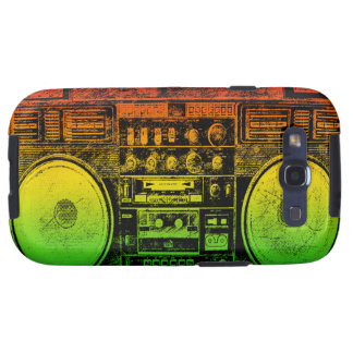 Rasta ghetto blaster galaxy SIII covers