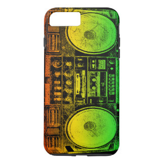 Rasta Ghetto Blaster iPhone 8 Plus/7 Plus Case
