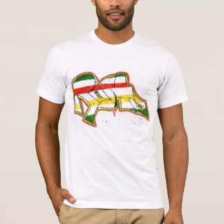 rasta graffiti T-Shirt
