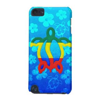 Rasta Honu Blue Hibiscus iPod Touch 5G Cover