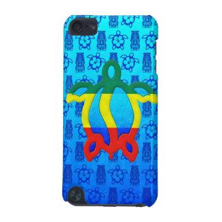 Rasta Honu Blue Tiki iPod Touch (5th Generation) Cases